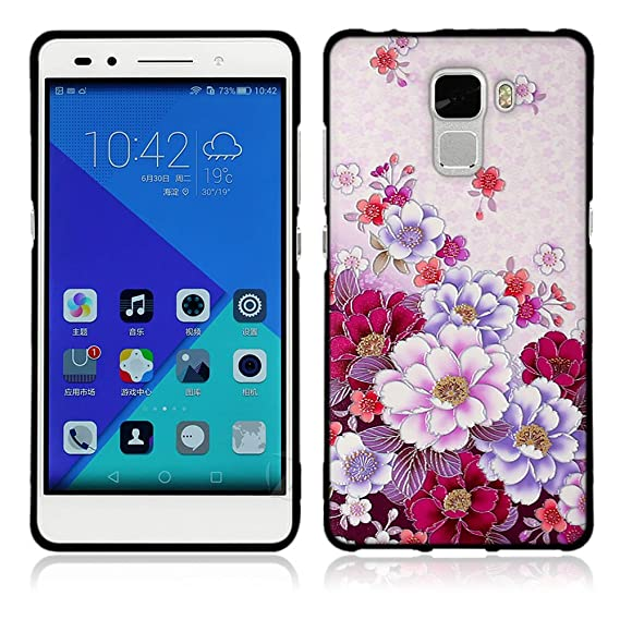 classic fit 867cf ff928 Amazon.com: Huawei Honor 7 Case, Luxury Waterproof Case Shell with ...