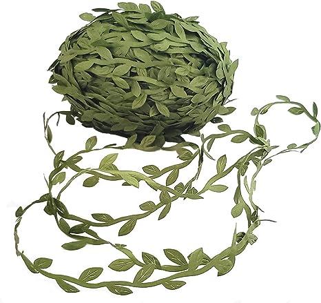 Party Home Decor Artificial  Leaves Rattan Eucalyptus Vine Foliage Wreath