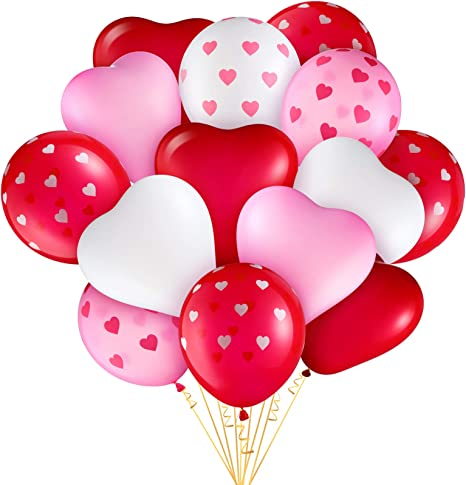 Large Heart Balloon Kit Valentine/'s Day Decorations Engagement Party Confetti Balloon Heart Shaped Balloon Wedding Decor