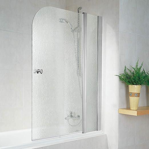 Schulte D850 41 54 3 Garant - Mampara de ducha para bañera, efecto cromado, 100 x 140 cm: Amazon.es: Bricolaje y herramientas