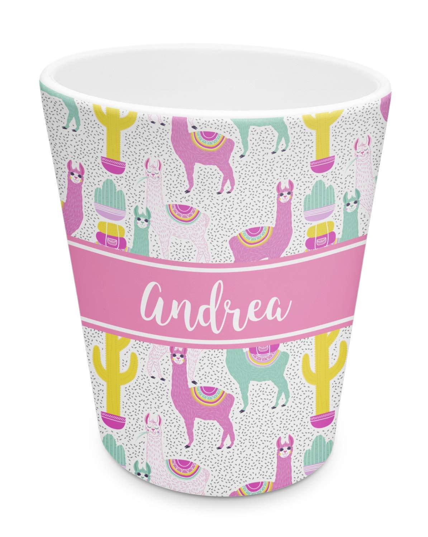 Amazon.com: Vaso de plástico de Llamas (personalizado): Baby