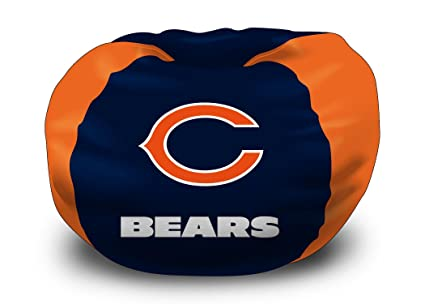 Awesome Amazon Com Chicago Bears Nfl Team Bean Bag By Northwest Alphanode Cool Chair Designs And Ideas Alphanodeonline