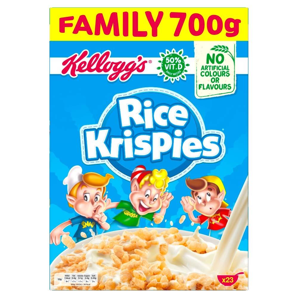 Kellogg's Rice Krispies Original Cereal, 700g