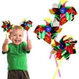 Toy Cubby Amazing Party, Beach and Backyard Pinwheels - 12 pieces