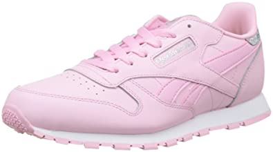 6bc3660ed9eb1 Reebok Girls  Classic Leather Pastel Trainers  Amazon.co.uk  Shoes ...
