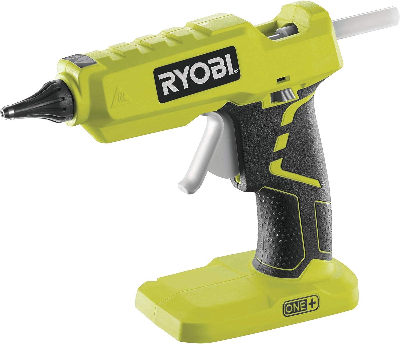 Ryobi - Pistola de pegamento inalámbrica ONE+, 18V, R18GLU-0, verde, R18GLU-0, 18V