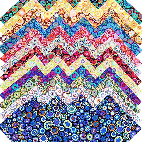 Westminster Fibers (Kaffe Fassett PAPERWEIGHT Entire Collection Precut 5-inch Cotton Fabric Quilting Squares Charm Pack Assortment Westminster)