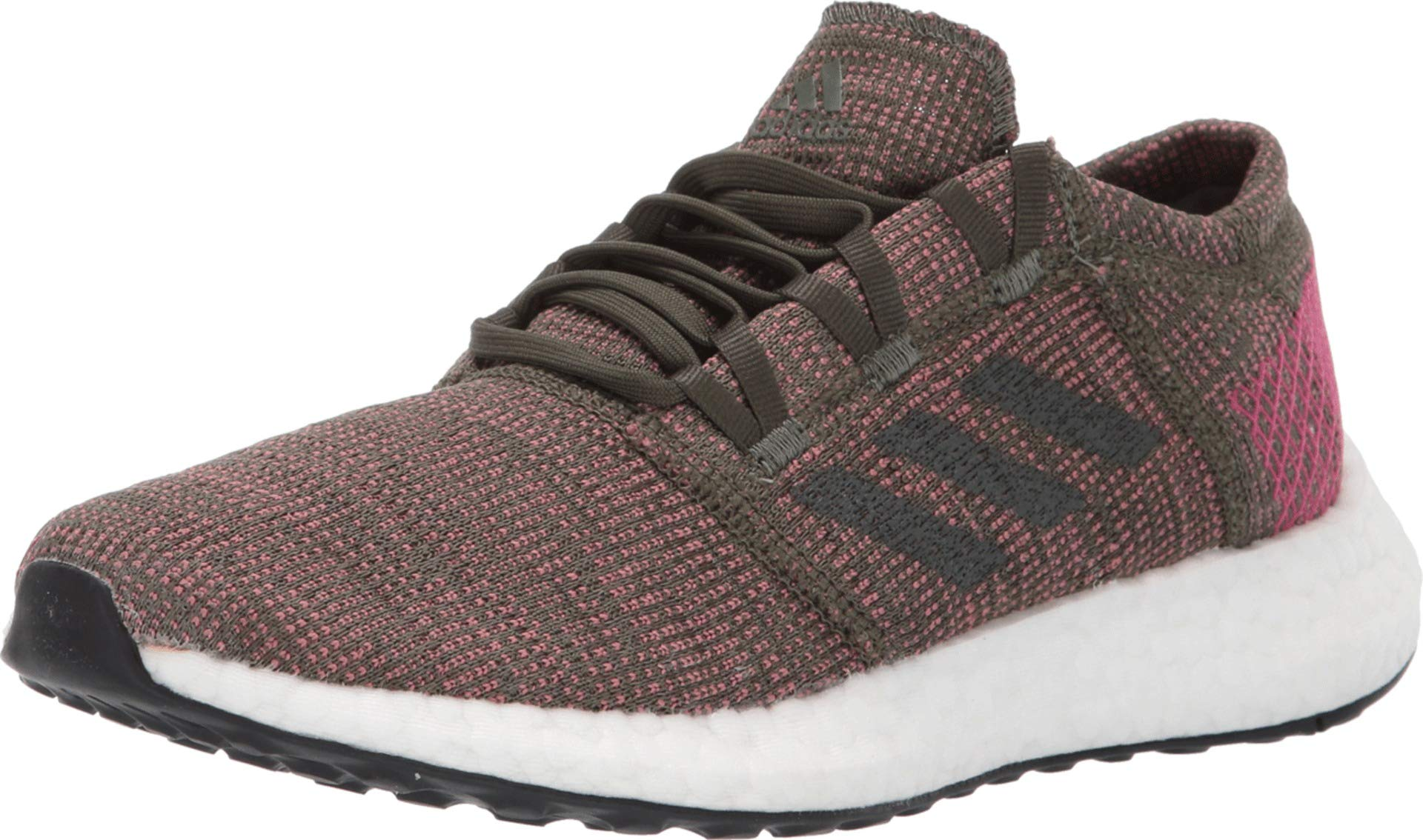 adidas Running Women's Pureboost Element Base Green/Night Cargo/Trace Maroon 5 B US