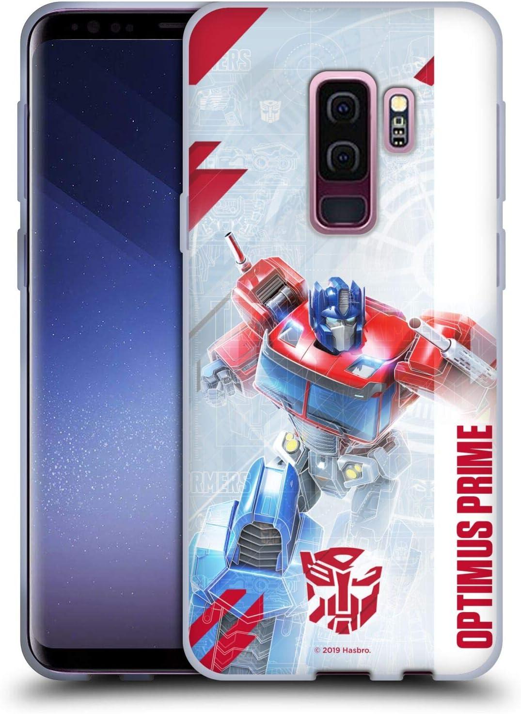 Head Case Designs sous Licence Officielle Transformers Optimus Prime Autobots Art Clé Coque en Gel Doux Compatible avec Samsung Galaxy S9 / S9 Plus