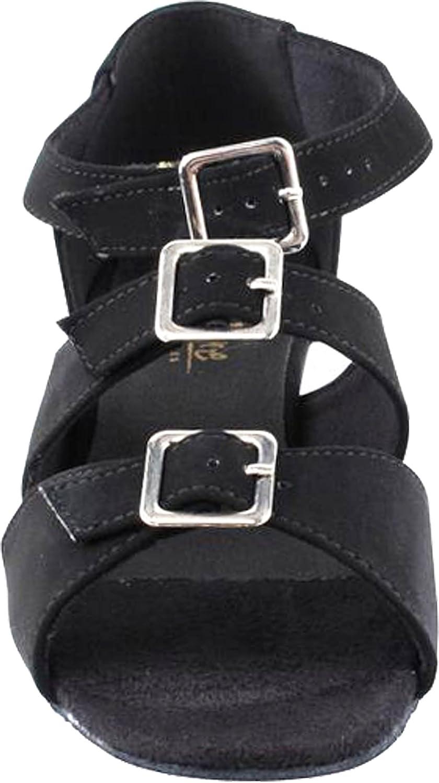 Very Fineレディース社交サルサラテンダンス練習靴1679 +ブラシ1.5