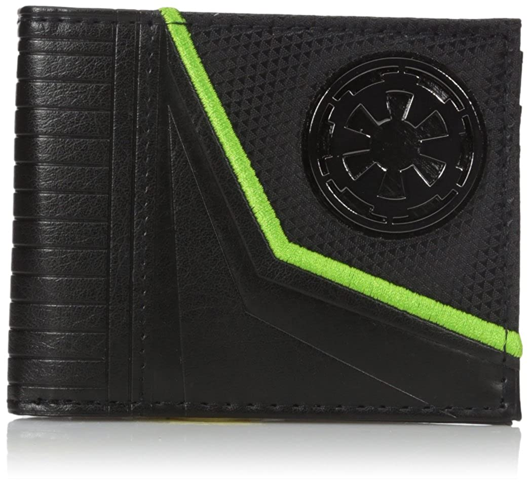 Bioworld Men's Star Wars Rogue One Empire Logo Bi-fold Wallet MW4KSDSTW