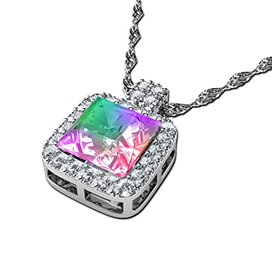 rainbow gay steel yang pendant kapow shop pride gifts stainless yin necklace necklaces free