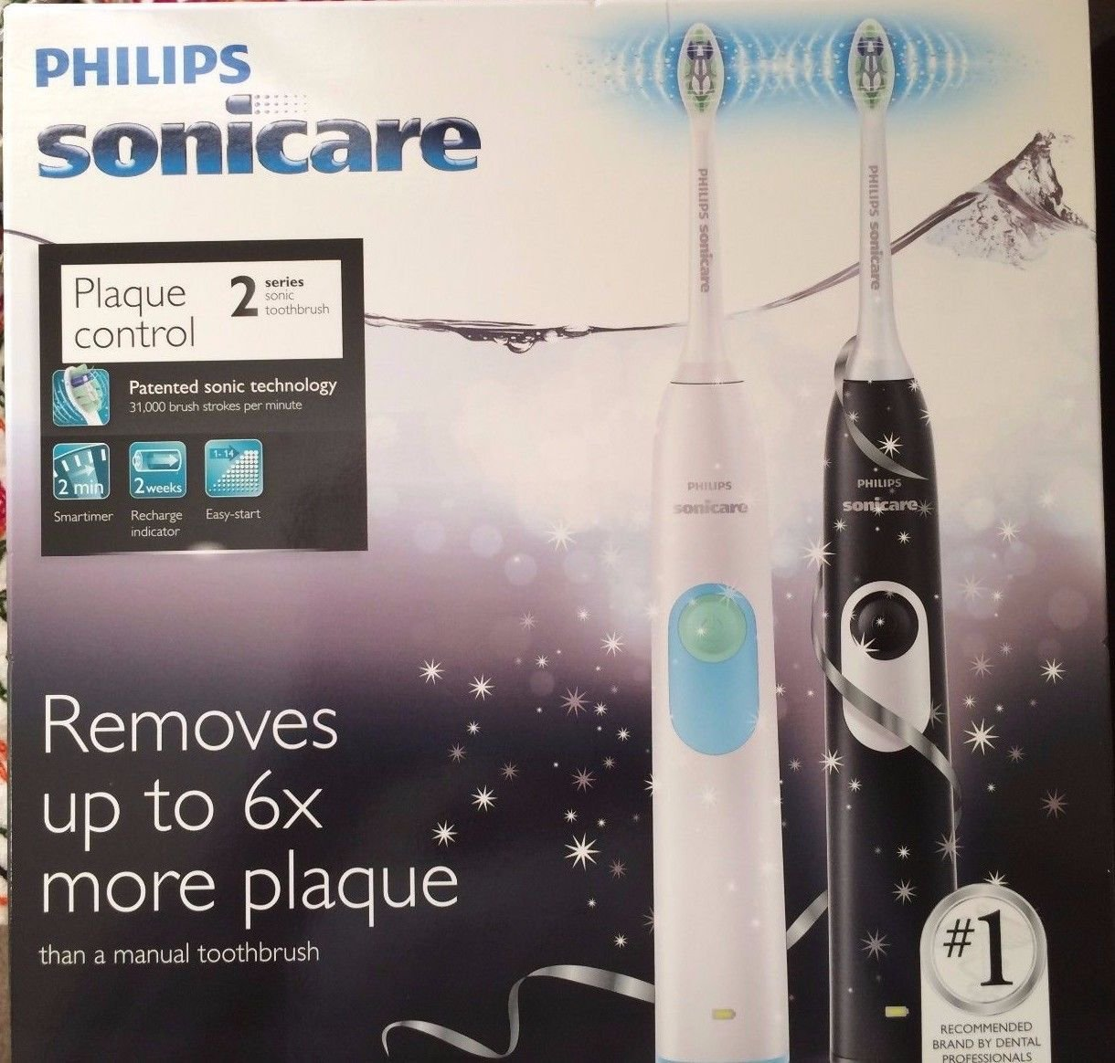 philips sonicare dual pack
