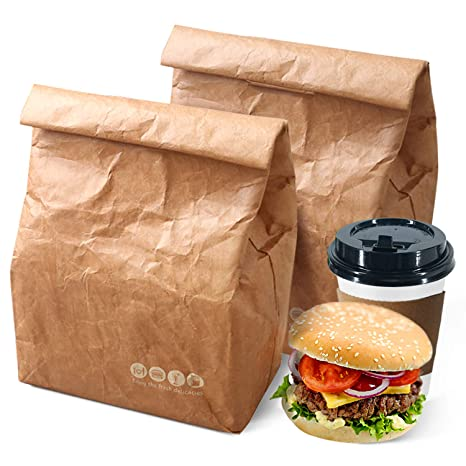 Amazon.com: Tyvek Bolsa de almuerzo, ecológica, impermeable ...