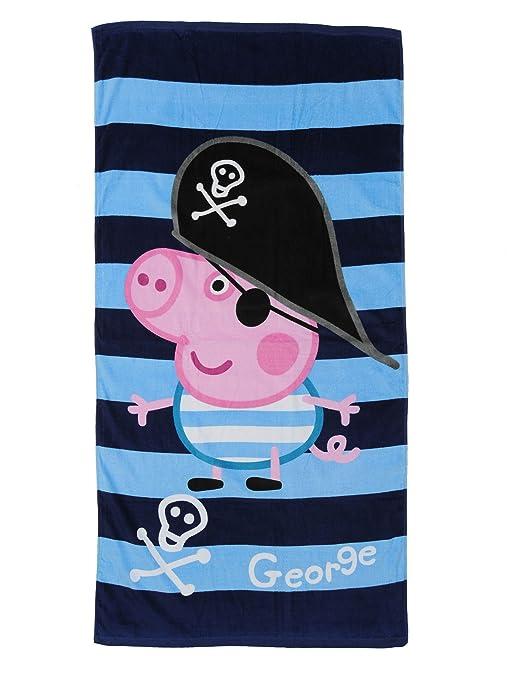Toalla George Pig Pirata