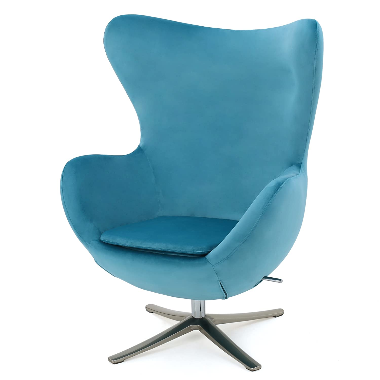 Amazon Glendon Arne Jacobsen Style New Velvet Swivel Contour