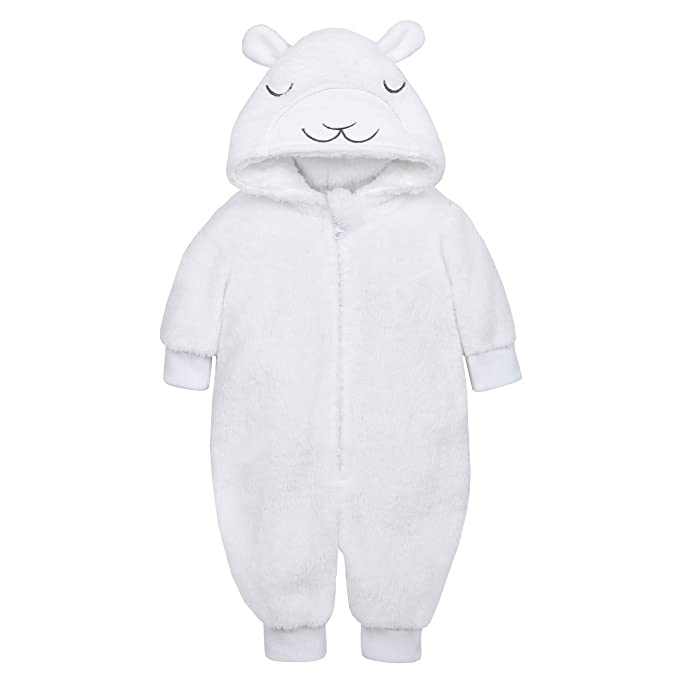 e2bb97b46 Metzuyan Unisex Baby Lamb All in One with Novelty Hood  Amazon.co.uk ...