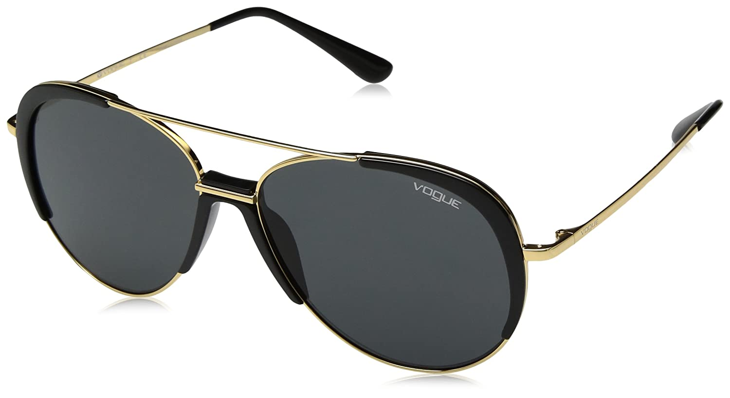 Amazon.com: Vogue 0vo4097s Aviator - Gafas de sol para mujer ...