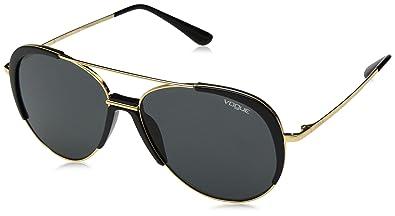 Amazon.com: Vogue 0vo4097s Aviator - Gafas de sol para mujer ...