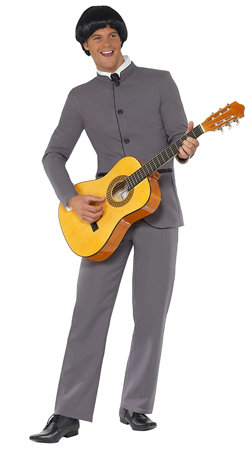 60s -70s  Men's Costumes : Hippie, Disco, Beatles Smiffys Fab Four Iconic Adult Costume- $32.99 AT vintagedancer.com