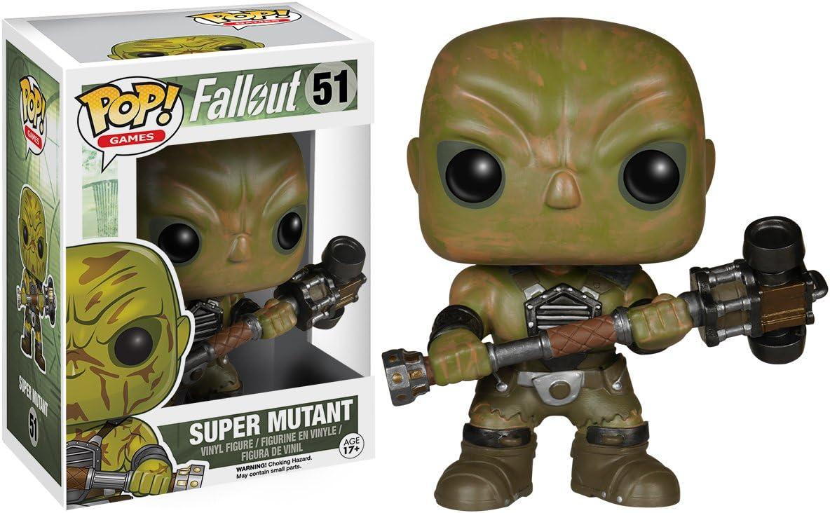 Import Europe - Figura Pop! Fallout Super Mutant: Amazon.es: Juguetes y juegos