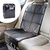 iRegro Car seat cover, Car Seat Protector, ideal for children/babies/animals, to protect the vehicle leather upholstery (1 pack)