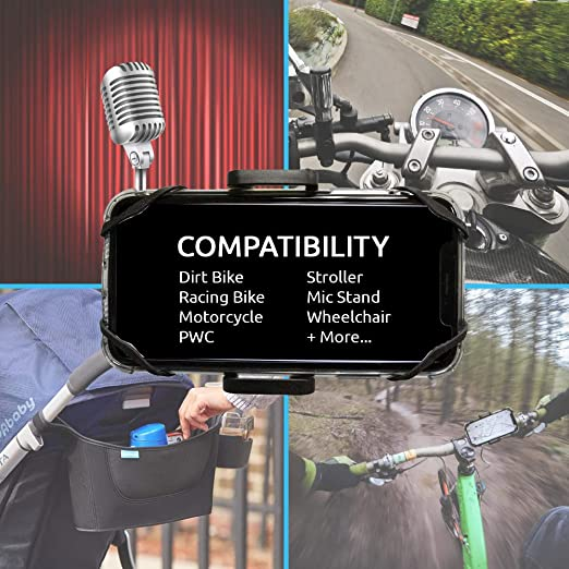 Amazon.com: Xtreme Bike Phone Mount – Compatible with Most ...
