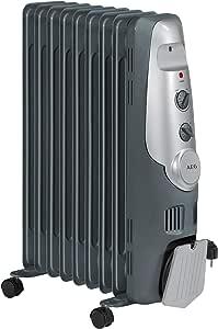 AEG RA 5521 - Radiador de aceite, 2000 W, 9 elementos, termostato, 3 niveles de potencia