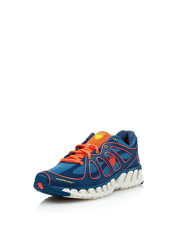 k-swiss Zapatillas Running Blade Max Express Mrccn, Azul Indigo/Coral Neón, talla EU 41.5: Amazon.es: Zapatos y complementos