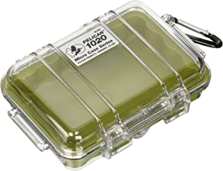 product image for Pelican 1020 Micro Case (Green/Clear)