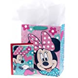 Hallmark Large Birthday Gift Bag with Tissue Paper Minnie Mouse