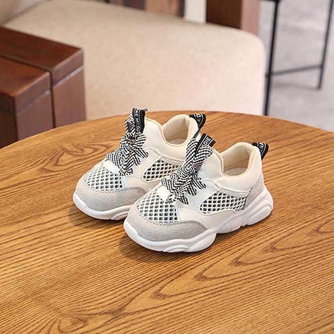 Moda Suave Zapatos 2019 Ni/ños Beb/é Ni/ñas Oso Malla Carta Correr Deporte Zapatilla De Deporte Zapatos Ocasionales Zapatos Calzado Deportivas Botas Casuales VECDY Sandalias Bebe Ni/ña