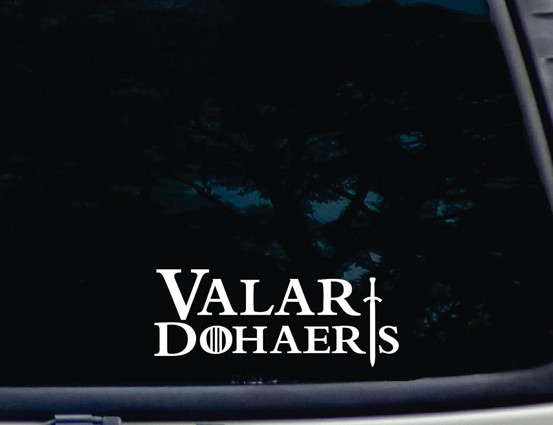Valar Dohaeris Game of Thrones Car Truck Window Vinyl Decal Sticker 12 COLORS