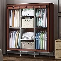 Lukzer 8 Shelves Wardrobe