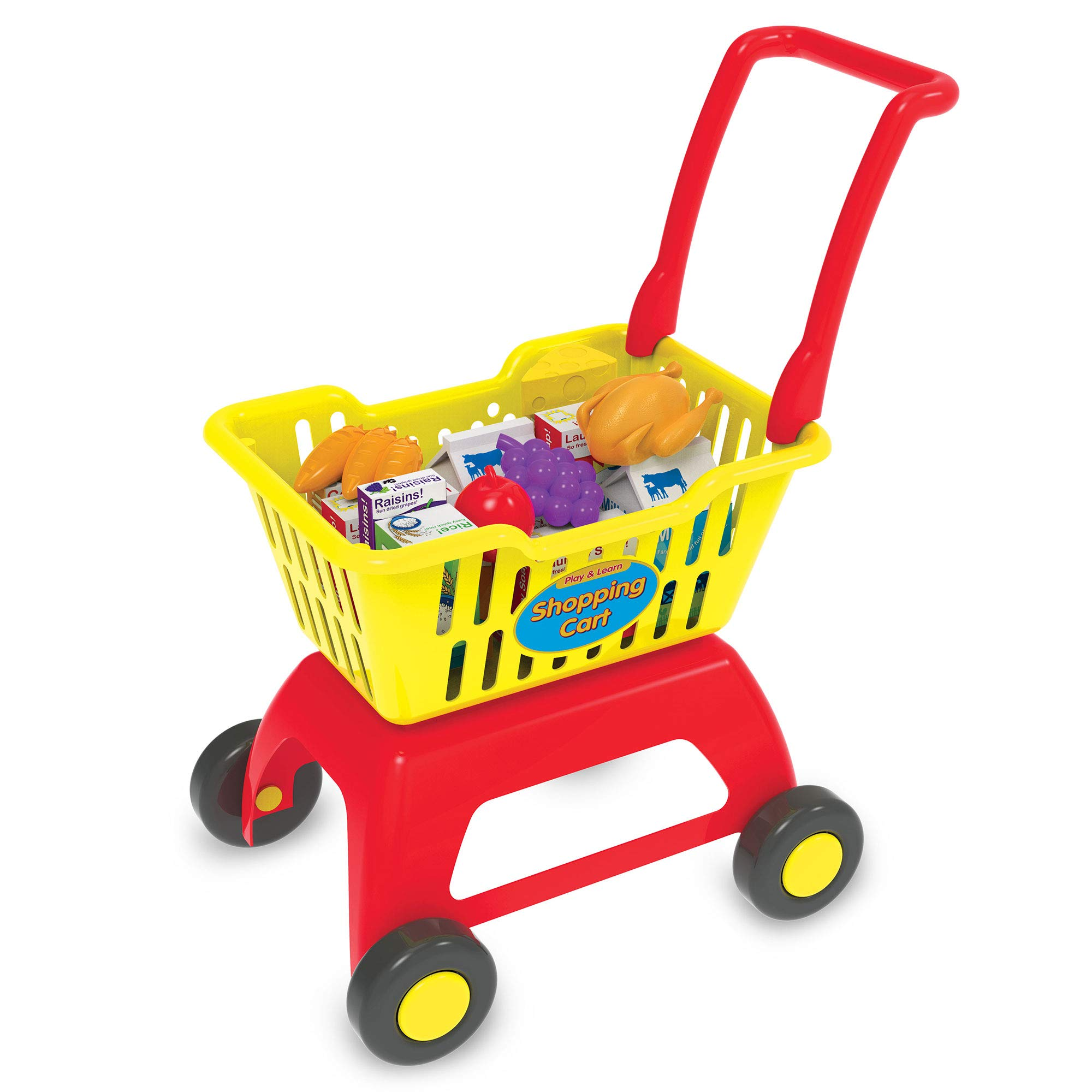 The Learning Journey Play & Learn - Shopping Cart - Toddler Toys & Gifts for Boys & Girls Ages 3 Years and Up by The Learning Journey