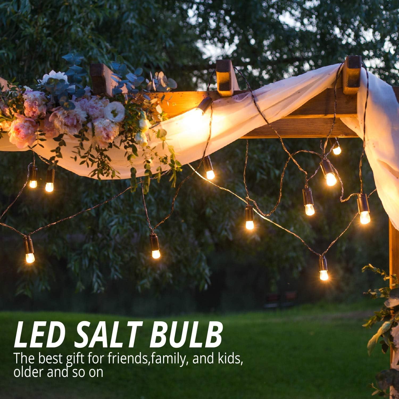 Night 2 Pack Elvissmart 7 Watt LED Salt Light Bulb-Perfect