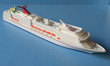 Amazoncom CARNIVAL SPIRIT Cruise Ship Model In Scale - Toy cruise ship