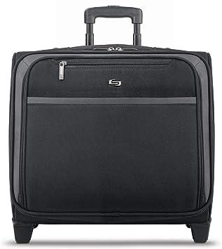 Solo New York Dakota Rolling Overnight Laptop Bag, Black
