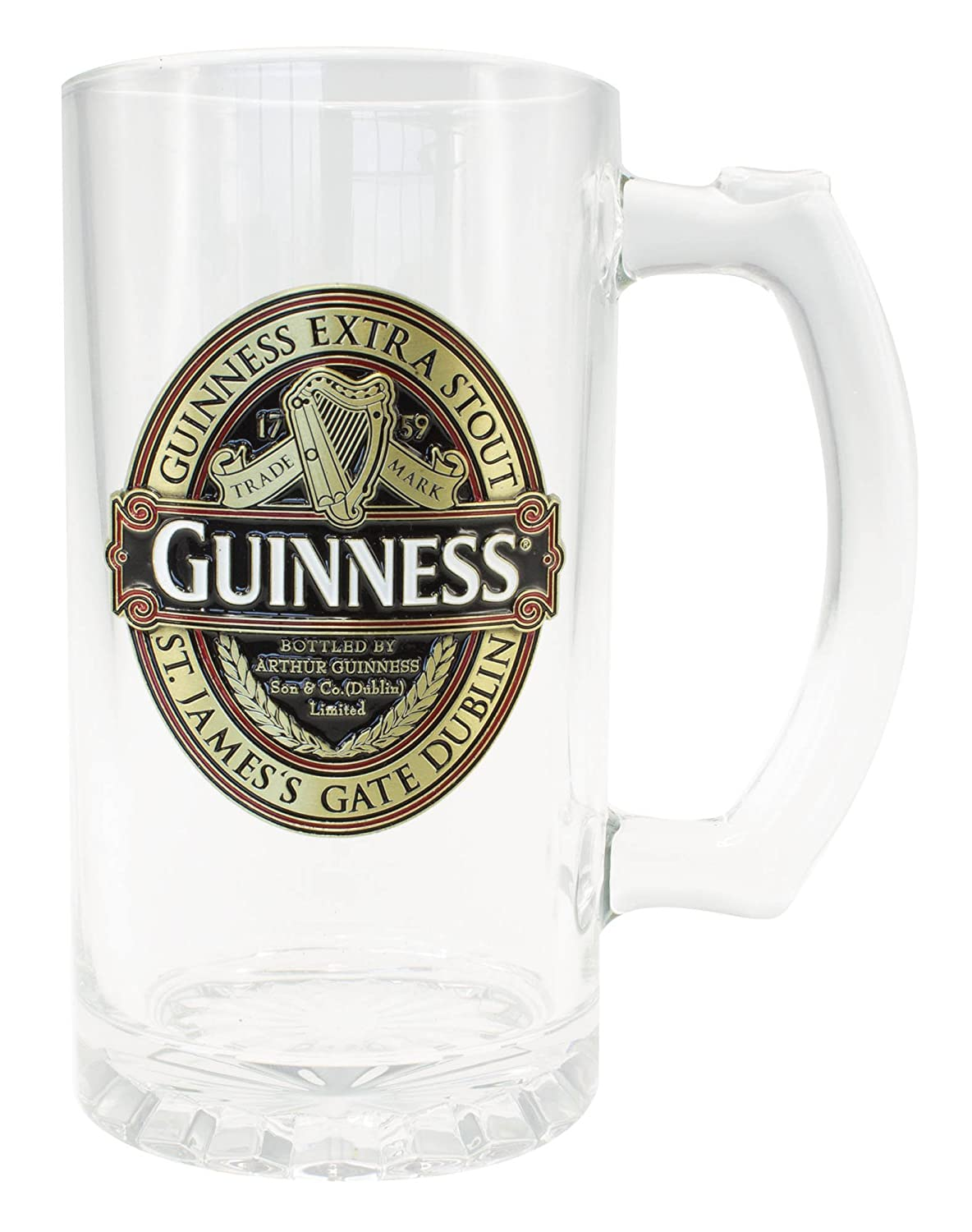 Guinness Tankard With Guinness Classic Collection Red And Black Label Design Guinness Official Merchandise GNS5340