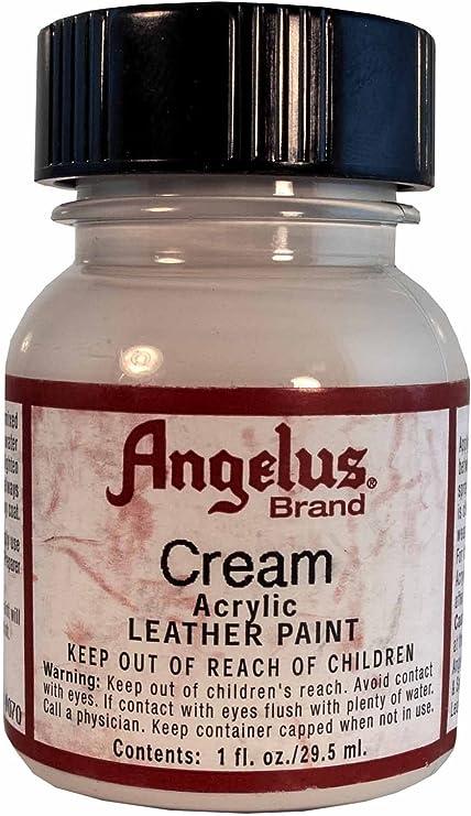 Angelus Cream Acrylic Leather Paint