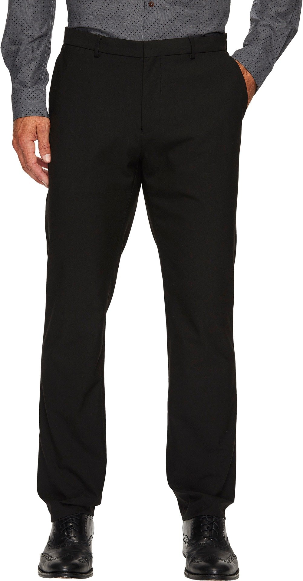 Calvin Klein Men's Infinite Slim Fit Trouser Suit Pant 4-Way Stretch, Black, 28W 30L