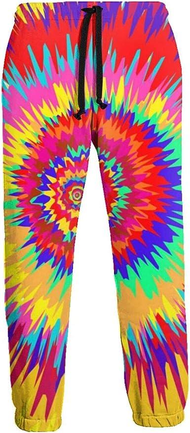 Pantalones de chándal para hombre con diseño de espiral de ...