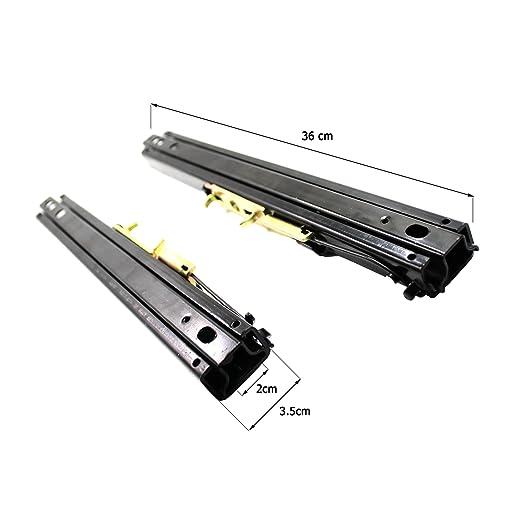 BQLZR plata negro HSS Square Fin de tama/ño ajustable gama mano Escariador Metal herramienta de corte agujero repuesto