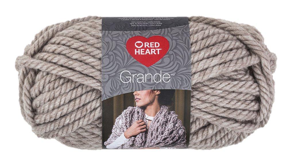 Coats: Yarn RED HEART Grande Yarn, Oatmeal Coats Yarn E826.0307