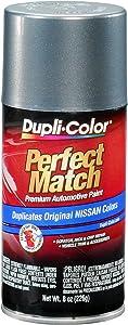 Dupli-Color EBNS06047 Precision Gray Nissan Perfect Match Automotive Paint - 8 oz. Aerosol