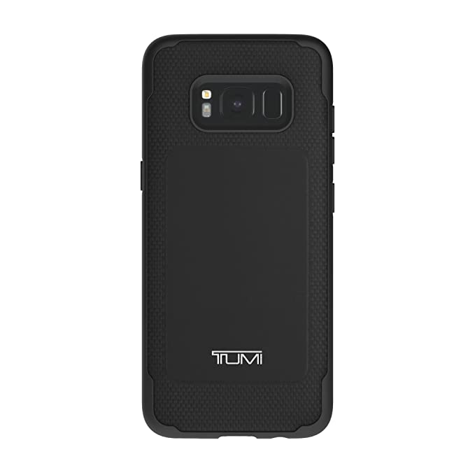 on sale 235a2 56371 TUMI Leather Co-Mold Case for Samsung Galaxy S8 - Black