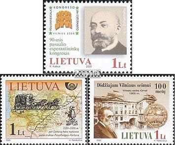 Prophila Collection Lituania Michel.-No..: 880,888,893 (Completa ...