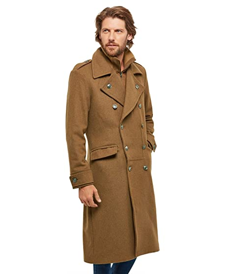 9b34b774e108 Joe Browns Mens Double Breasted Winter Trench Coat Camel M(39/41): Amazon.co .uk: Clothing