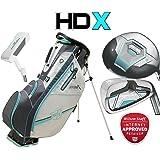 Wilson Prostaff HDX Deluxe LADIES Graphite Complete Golf Club Set & Prostaff Cart Bag