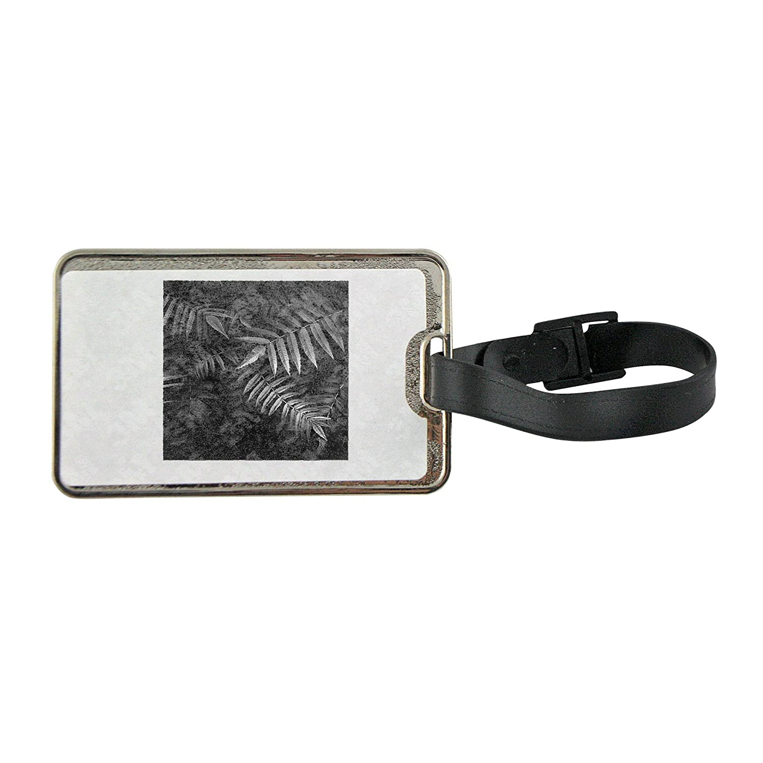 e583bc28a48b Metal luggage tag with Branches with cuspidate leaves 50%OFF ...